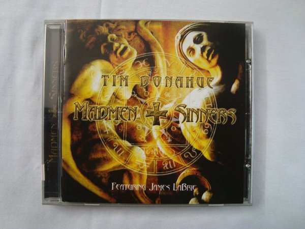 CD Madmen and Sinners - Tim Donahue Feat James Labrie