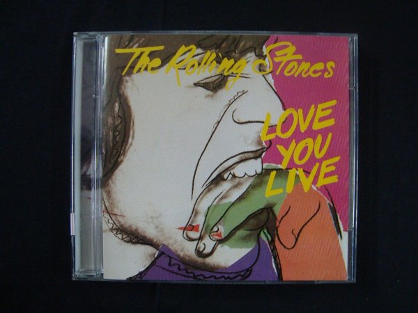 CD The Rolling Stones - Love you Live - Duplo