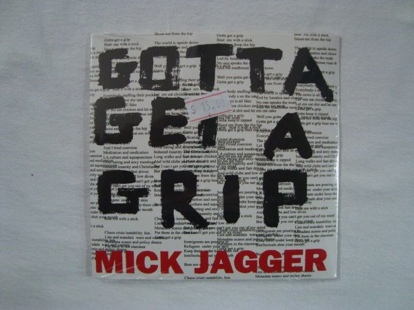 CD Mick Jagger - Gotta get a Grip - England Lost