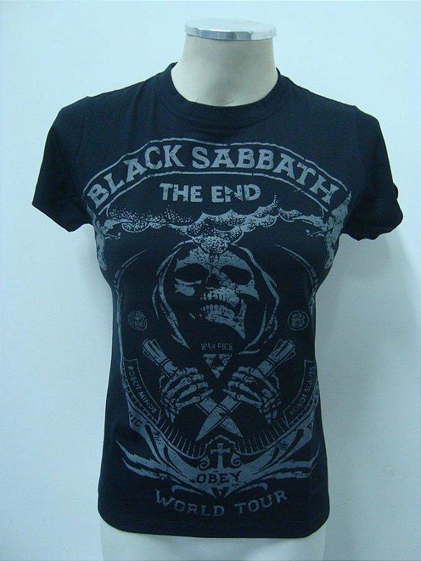 Baby look Black Sabbath - The End Tour - Obey
