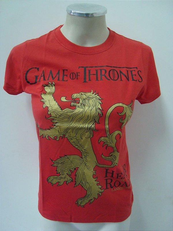 Baby look Game of Thrones - Lannisters - Hear me Roar