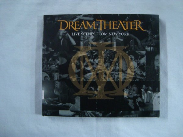 CD Dream Theater - Live Scenes from New York - importado