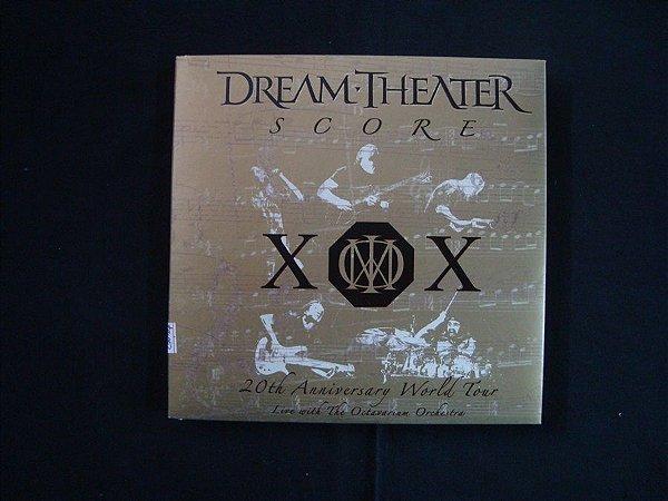 CD Dream Theater - Score - triplo - 20th Anniversary