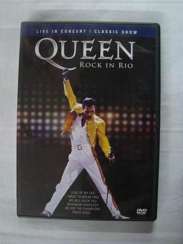 DVD Queen - Rock in Rio - Live in Concert