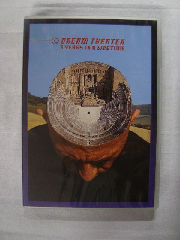 DVD Dream Theater - 5 Years in a Livetime + Images and Words live in Tokyo