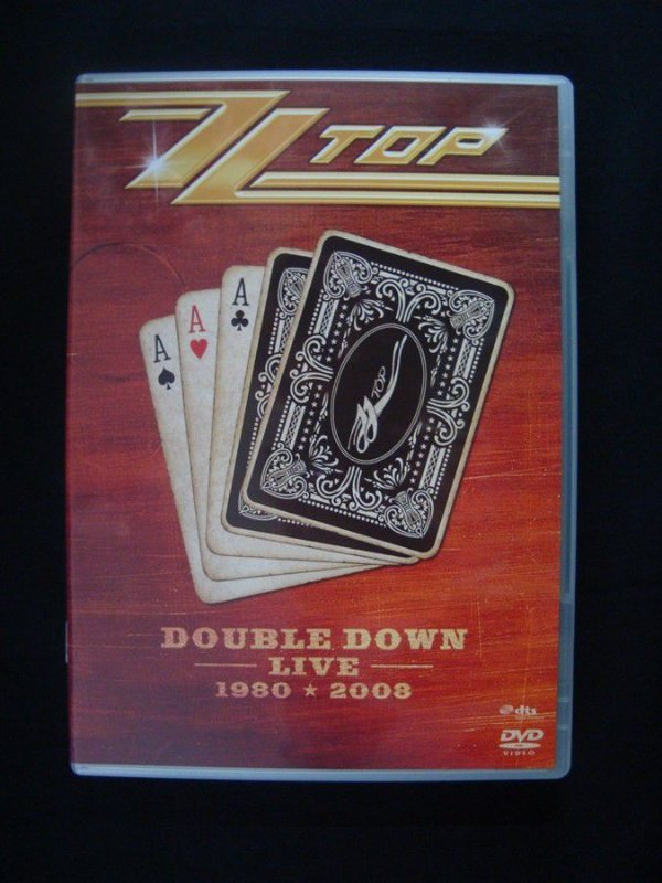 DVD ZZ Top - Double Down Live - 1980 + 2008