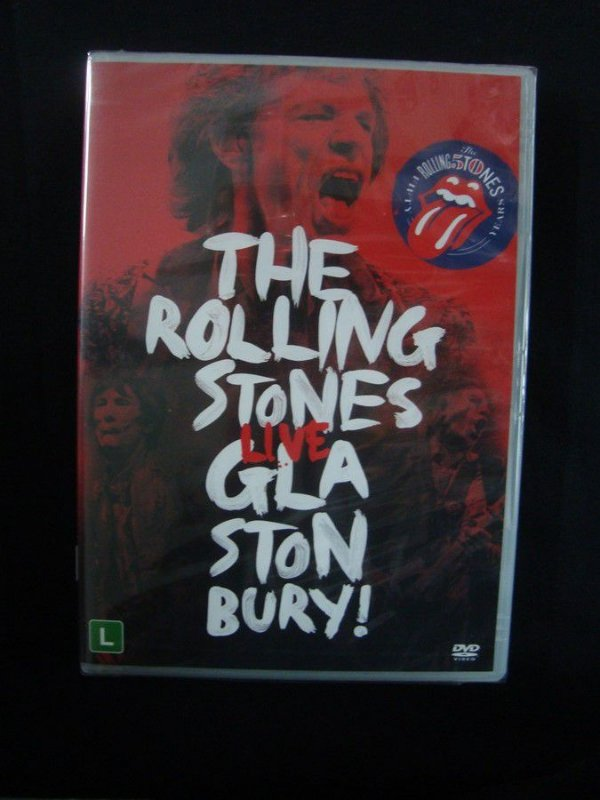 DVD The Rolling Stones - Live Glastonbury !