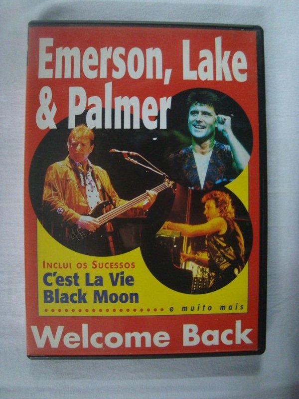 DVD Emerson Lake and Palmer - Welcome Back