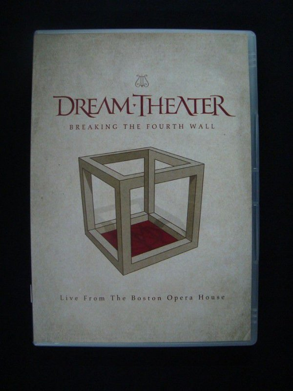 DVD Dream Theater - Breaking the fourth Wall - Live in Boston Opera House duplo