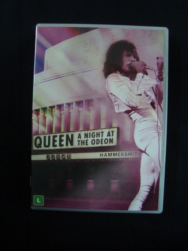 DVD Queen - A night at the Odeon