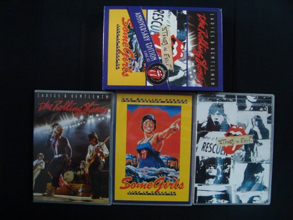 DVD Box 3 em 1 The Rolling Stones