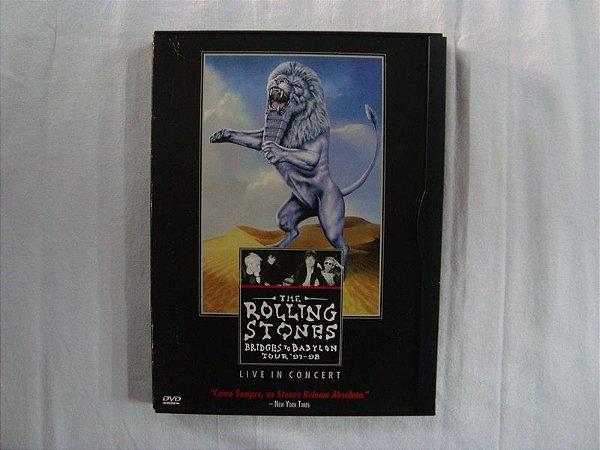 DVD The Rolling Stones - Bridges to Babylon - Live Tour