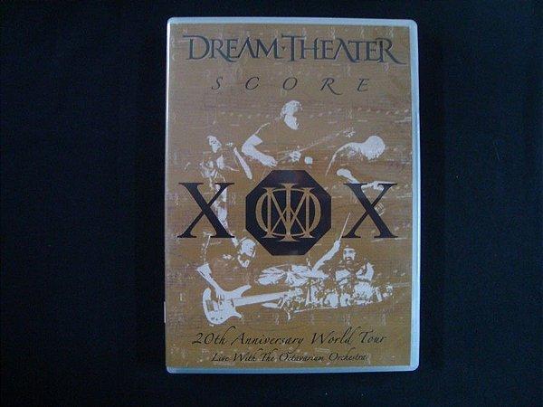 DVD Dream Theater - Score - duplo - 20th Anniversary