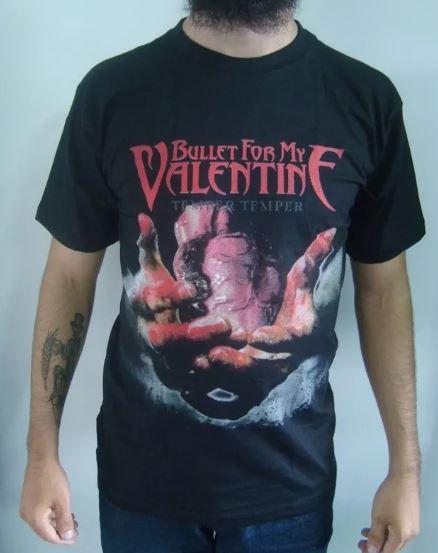 Camiseta Bullet for My Valentine - Temper Temper