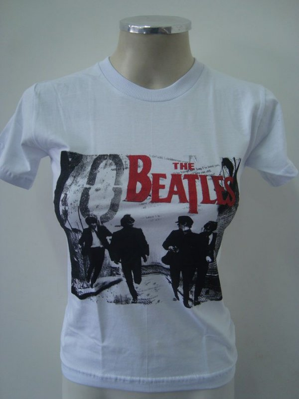 Baby look The Beatles - Branca
