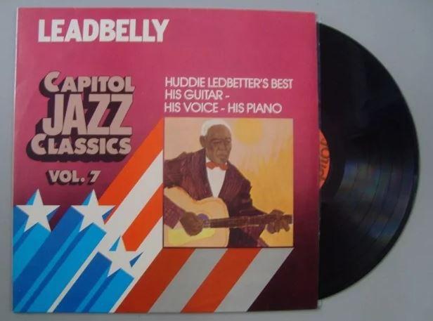 Disco de Vinil - Leadbelly - Capitol Jazz Classics Vol. 7