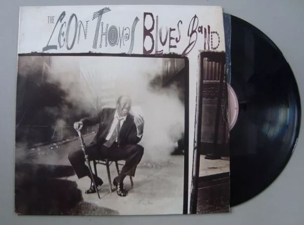 Disco de Vinil - The Leon Thomas Blues Band