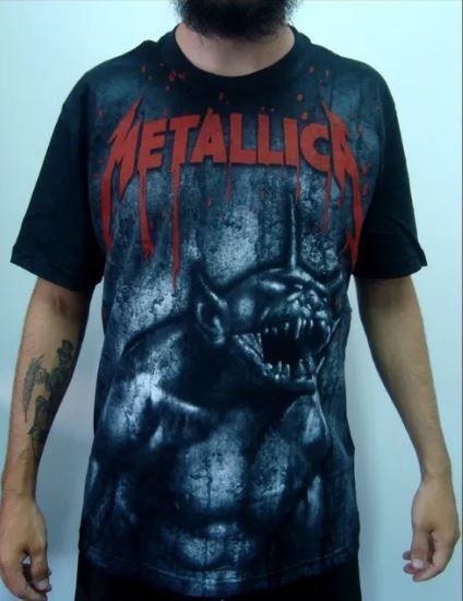 Camiseta Metallica - Jump in the Fire