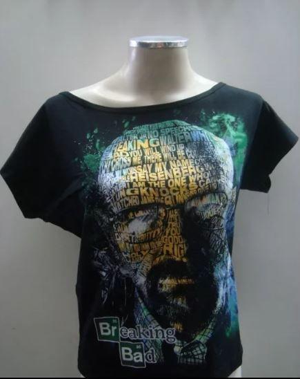 Blusinha gola canoa - Breaking Bad - Heisenberg
