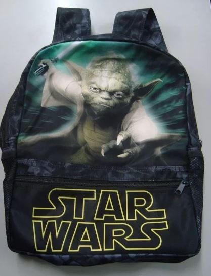 Mochila Escolar - Star Wars - Mestre Yoda