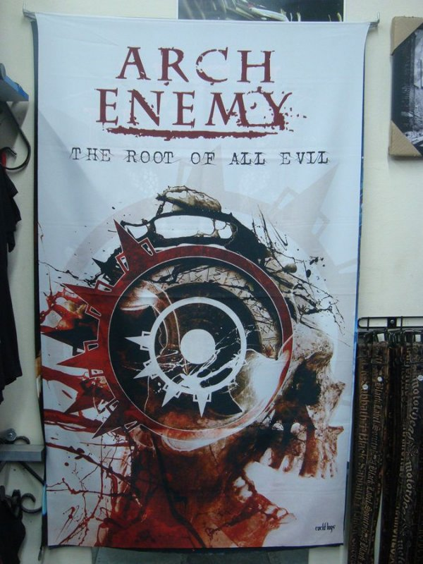 Bandeira Arch Enemy - The root of all evil