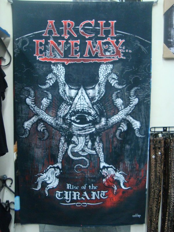 Bandeira Arch Enemy - Rise of the Tyrant
