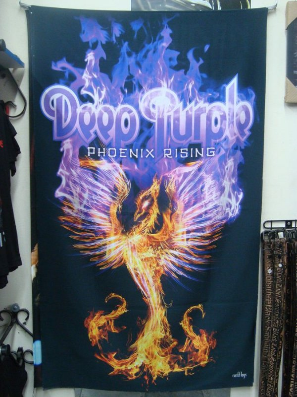 Bandeira Deep Purple - Phoenix Rising
