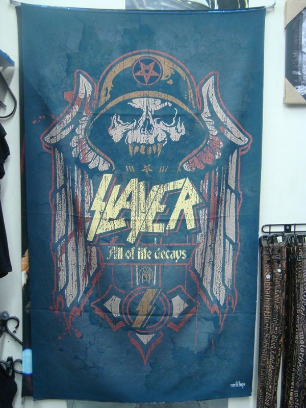 Bandeira Slayer - All of life decays