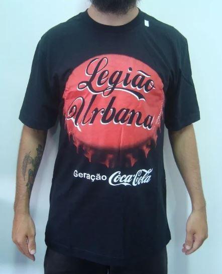Camiseta Legião Urbana - Geração Coca-Cola