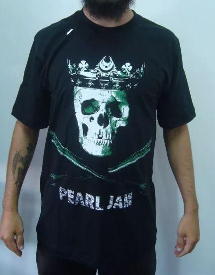 Camiseta Pearl Jam - Skull