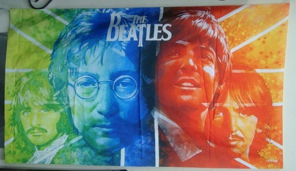 Bandeira The Beatles - banda