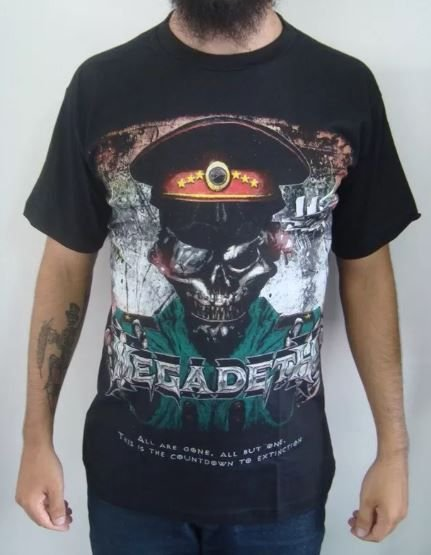 Camiseta Megadeth - All are gone ...