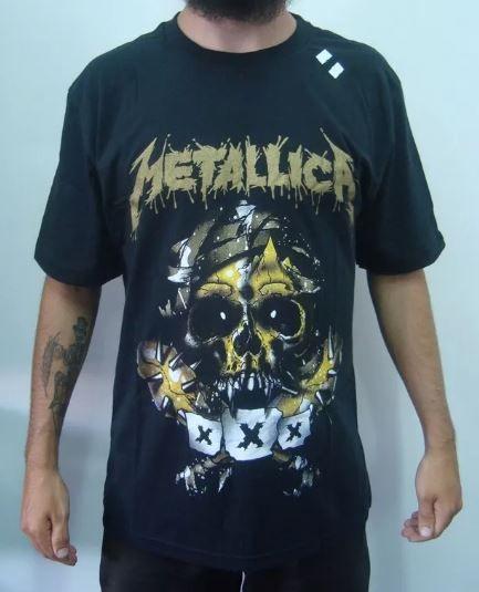 Camiseta Metallica - XXX