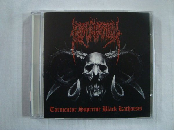 CD Extirpation - Tormentor supreme black katharsis