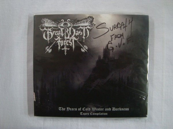 CD Great Vast Forest - The years of cold winter and Darkness - Tapes compilation