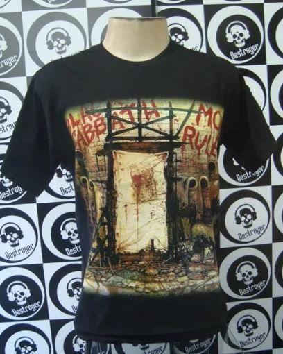 Camiseta Black Sabbath - Mob Rules
