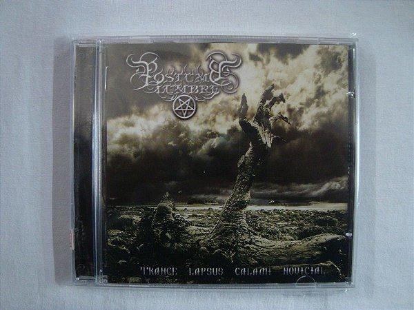 CD Postumo Lumbre - Trance lapsus calami Novicial