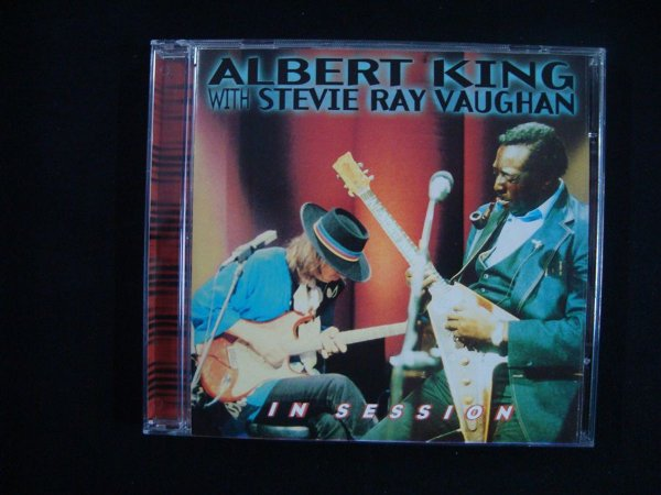 CD Albert King - with Stevie Ray Vaughan - In Session