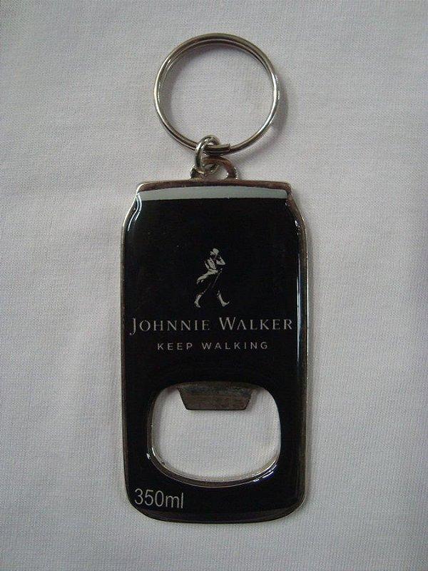 Chaveiro abridor de garrafa Johnnie Walker - Keep Walking