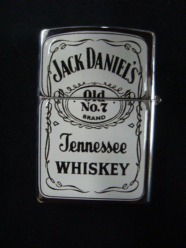 Isqueiro - Jack Daniel's - branca