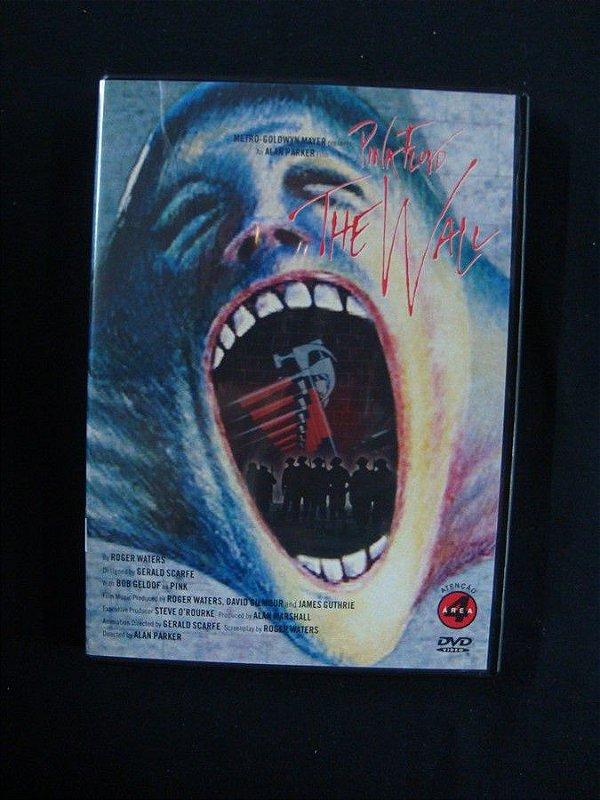 DVD Pink Floyd -The Wall - O filme
