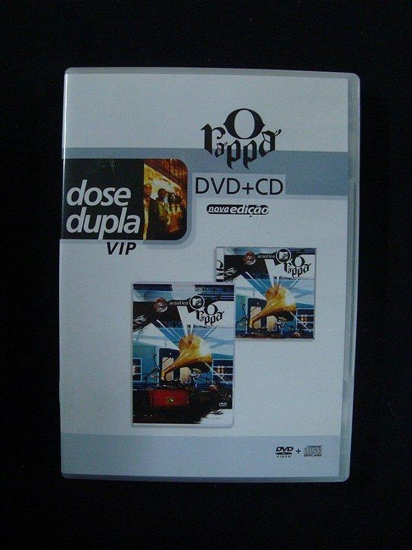 CD + DVD O Rappa - Dose Dupla Vip