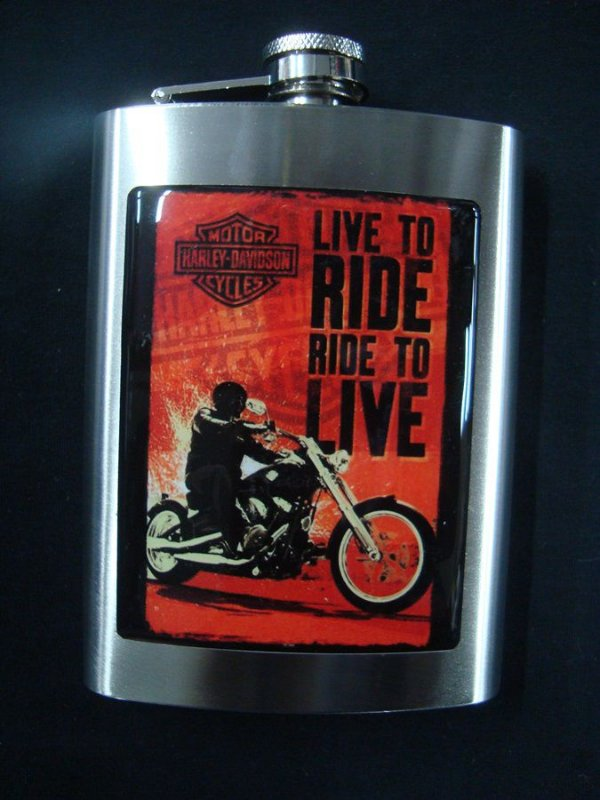 Cantil - Harley Davidson - Live to Ride, Ride to Live