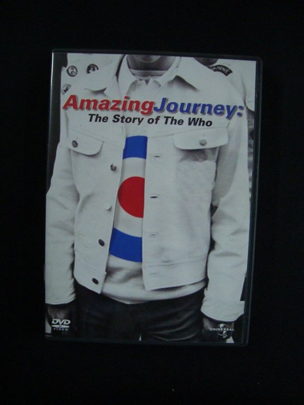 DVD Amazing Journey - The Story of The Who - Duplo