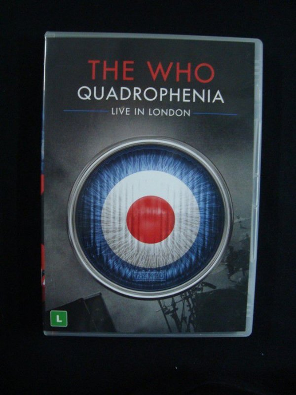 DVD The Who - Quadrophenia - Live in London