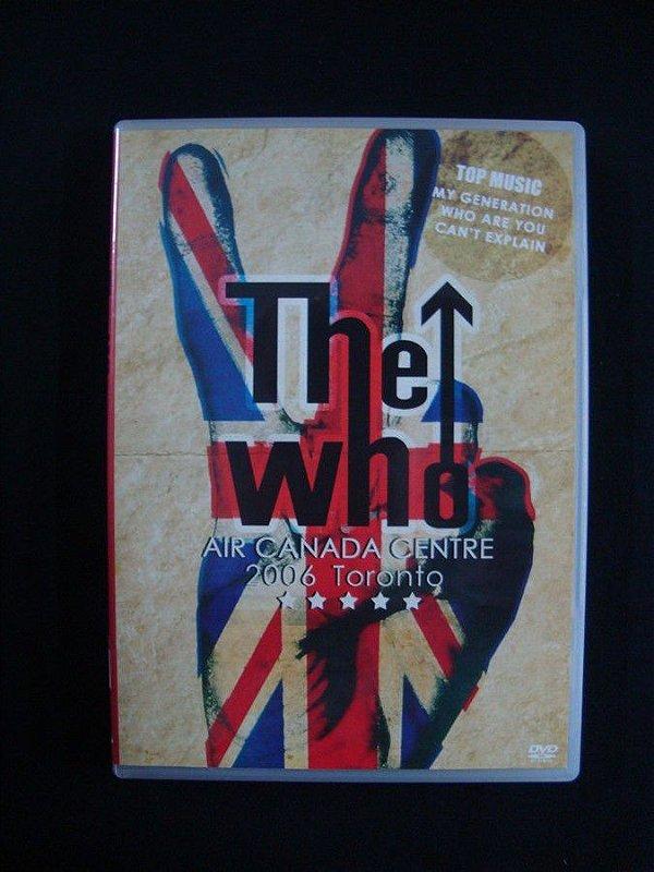 DVD The Who - Air Canada Centre - 2006 Toronto