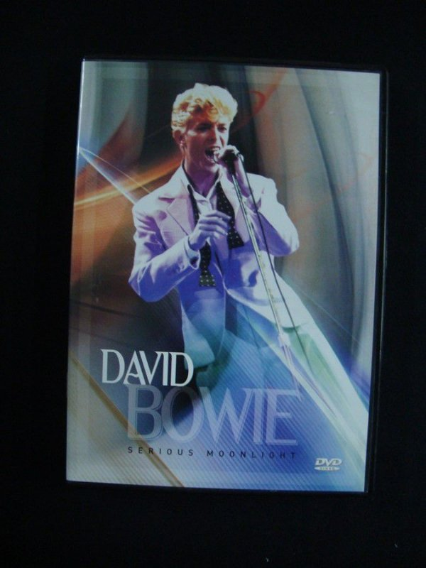 DVD David Bowie - Serious Moonlight