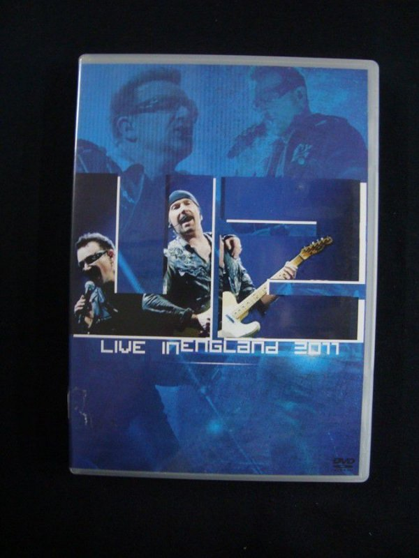 DVD U2 - Live in England 2011