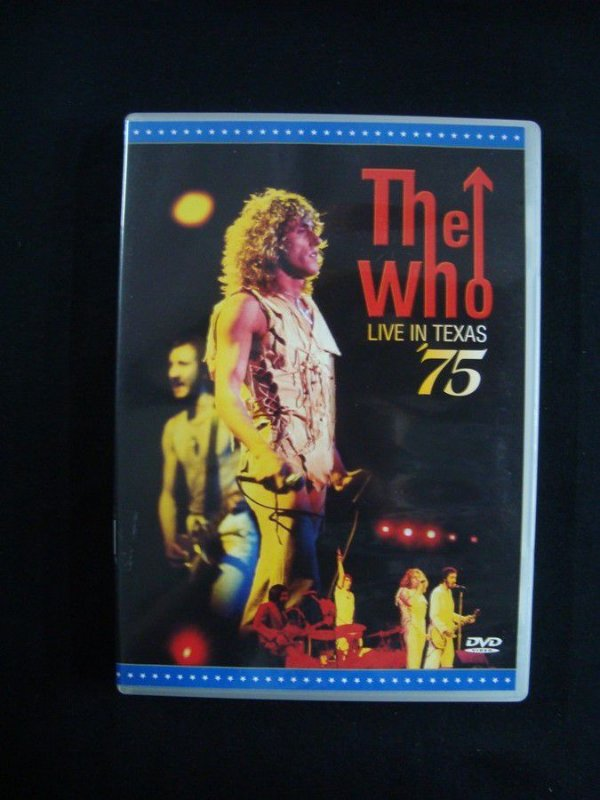 DVD The Who - Live in Texas '75