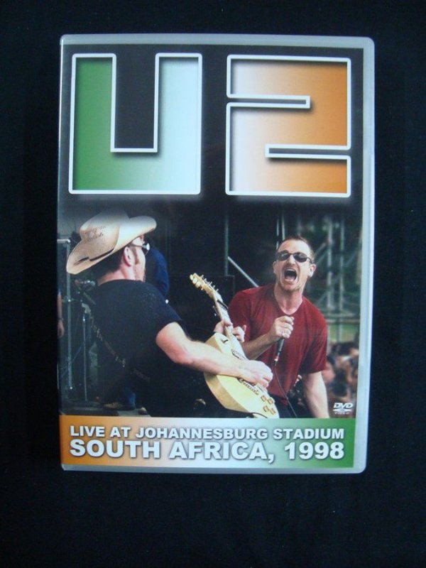 DVD U2 - Live at Johnnesbusg Stadium - 1998